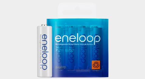 Dòng thời gian Eneloop từ 2005 đến 2017