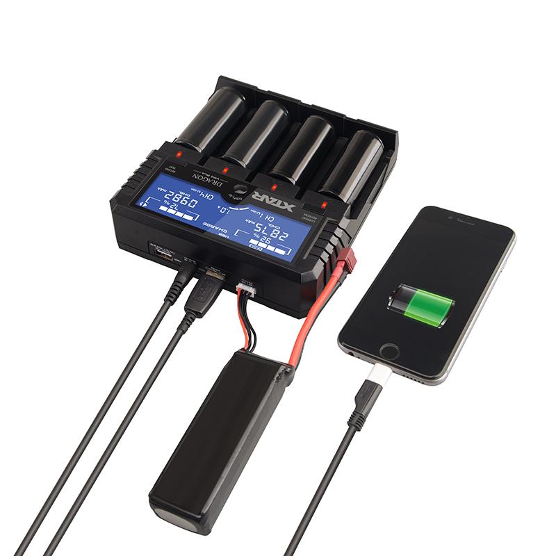 Xtar VP4 Plus Dragon, bộ sạc thông minh đỉnh cao cho dân chơi đèn pin, vô số chức năng cho bạn nghịch